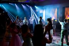 Oświetlenie w trakcie zabawy weselnej