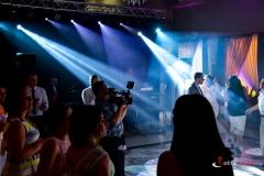 Oświetlenie na weselu tworzy wspaniały efekt