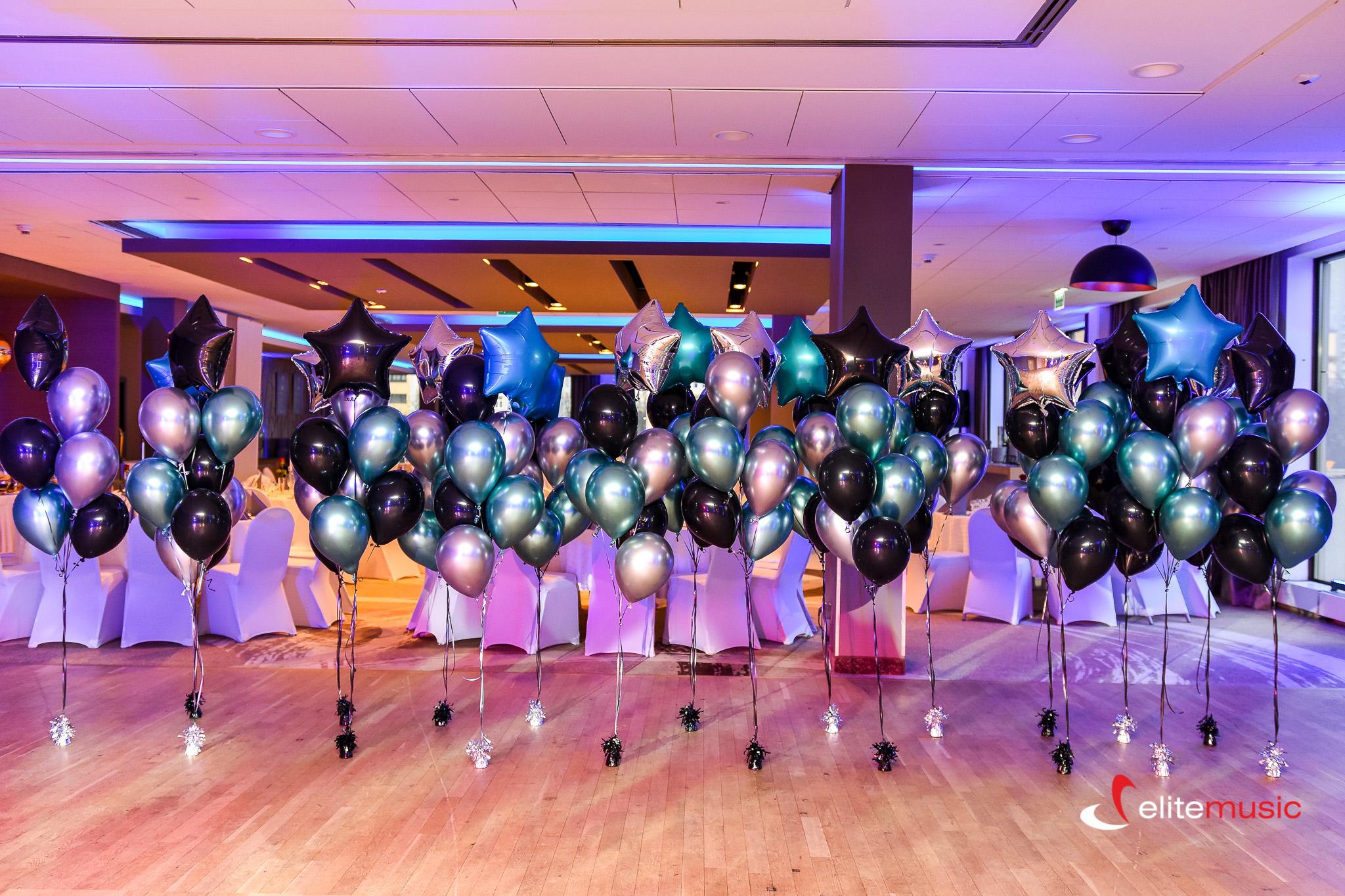 Dekoracje Balonowe Balony Z Helem Na Imprezę Wesele