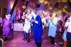 Wodzirej w animacji tanecznej na weselu w Rapatach