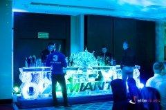 Zorganizowaliśmy bar lodowy z obsługą barmańską i pokazem flair