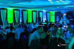 Dekoracja światłem sali zapewniła wyjątkowy klimat w trakcie imprezy
