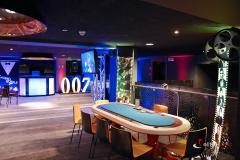 Wystrój sali - Wieczór James Bond Casino