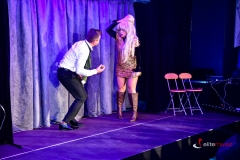 Kabaret Jurki w trakcie występu