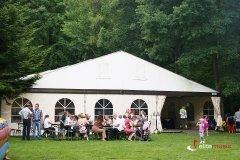 Namiot bankietowy na potrzeby pikniku firmowego