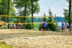 Piknik sportowy- zawody w siatkówkę