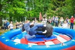 Piknik dziki zachód - konkurencja z bykiem pneumatycznym