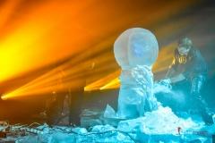 Pokaz rzeźbienia w lodzie