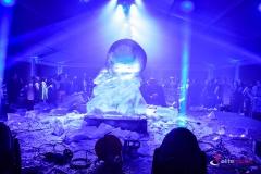 Pokaz rzeźbienia w lodzie - efekt finalny