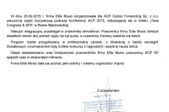 ACP Global Forwarding - DPD - referencja dla Elite Music 25.09.2015-m