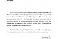 Vison Group PR - referencje dla Elite Music - 10.10.2012-m