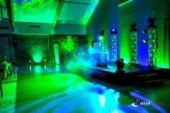 Obsługa techniczna w hotelu Marina - miejsce DJ-a, rzut drugi