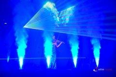 TEchnika podczas pokazu laserowego