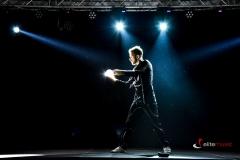 Pokaz Visualshow - żonglerka kontaktowa