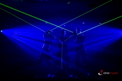 Pokaz Visualshow - lasery