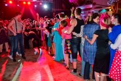 rozdanie pamiątkowych legitymacji podczas imprezy prl
