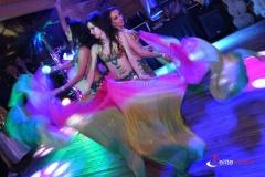 Układ taneczny - pokaz tańca orientalnego
