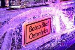 Bar lodowy podczas imprezy jubileuszowej