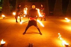 Taniec z ogniem – fire show