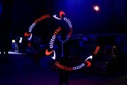Pokaz lightshow w trakcie którego eksponujemy logo firmy