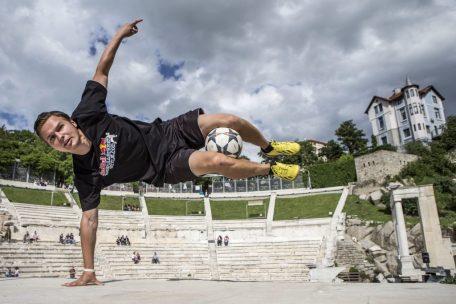 triki piłkarskie na event