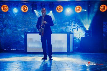 saksofonista na event