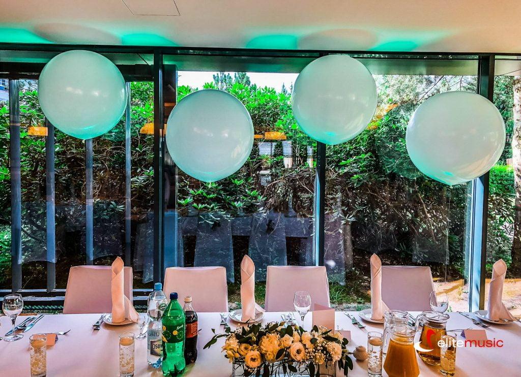 dekoracje balonowe na wesele