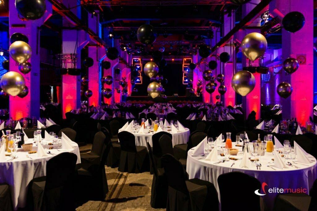 dekoracje balonowe na event