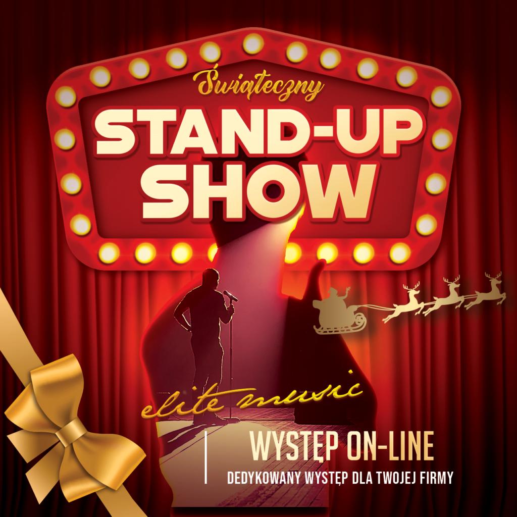 Świąteczny stand-up show – występ on-line
