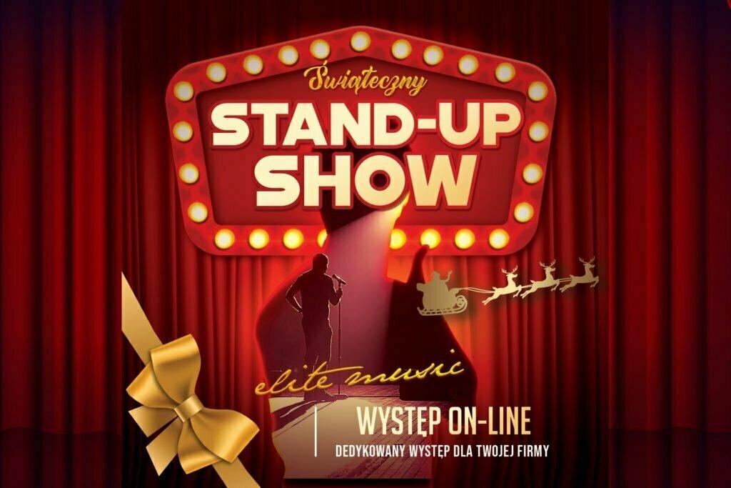 Świąteczny stand-up show - występ on-line
